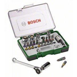Bosch 27 részes csavarozófej- és fúrókészlet