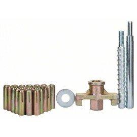 Bosch 27 részes rögzítőkészlet, betonhoz 15 mm