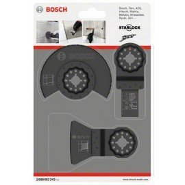 Bosch 3 részes csempézőkészlet AIZ 20 AB (1x); ATZ 52 SC (1x); ACZ 85 LMT (1x)