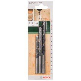 Bosch 3 részes fafúró készlet 6,0; 8,0; 10,0 mm