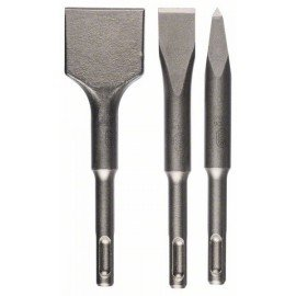 Bosch 3-részes rövidvésőkészlet, SDS-plus 140; 140x20;140x40 mm