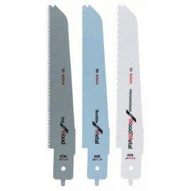 Bosch 3 részes szúrófűrészlap készlet PFZ 500 E Bosch multifűrészhez M 1142 H; M 3456 XF; M 1122 EF