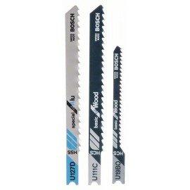 Bosch 3 részes szúrófűrészlap készlet, U-szár U 111 C; U 19 BO; U 127 D