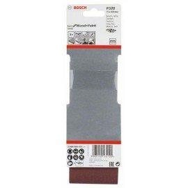 Bosch 3 részes X440 csiszolószalag-készlet 75 x 533 mm, 320