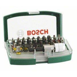 Bosch 32 részes csavarozófej-készlet színjelöléssel