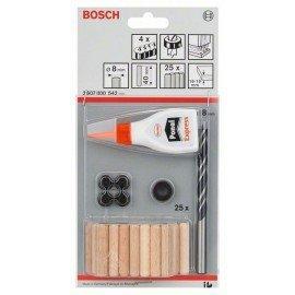 Bosch 32 részes fatiplikészlet 8 mm, 40 mm