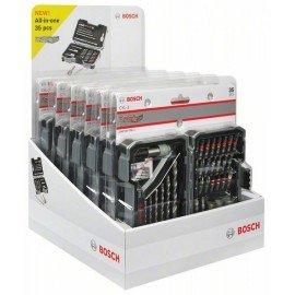 Bosch 35 részes fúró- és csavarbitkészlet PH1; PH2; PH3; PZ1; PZ2; PZ3; SL3; SL4; SL5; SL6; H3; H4; H5; H6; T10; T15; T20; T20; T25; T27; T30; T40