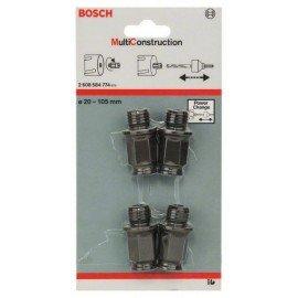 Bosch 4 részes adapterkészlet -