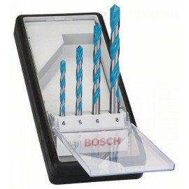 Bosch 4 részes Robust Line CYL-9 Multi Construction többcélú fúrókészlet 4; 5; 6; 8 mm