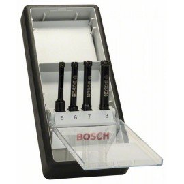 Bosch 4 részes Robust Line nedves gyémántfúró készlet 5; 6; 7; 8 mm