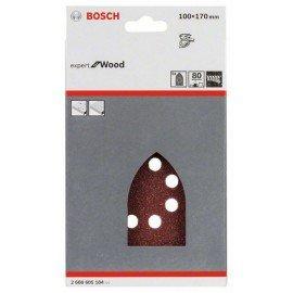 Bosch 5 részes C430 csiszolólapkészlet 100 x 170 mm, 80