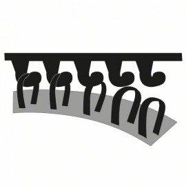 Bosch 5 részes csiszolólapkészlet deltacsiszolókhoz, adapter G= 240