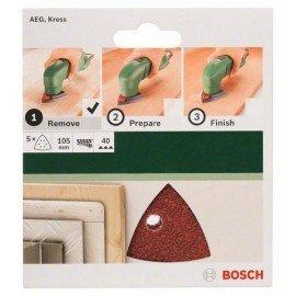 Bosch 5 részes csiszolólapkészlet deltacsiszolókhoz G= 40