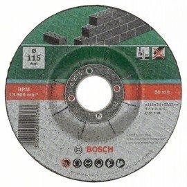 Bosch 5 részes darabolótárcsa-készlet, hajlított, kőhöz D= 115 mm