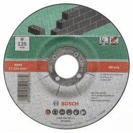 Bosch 5 részes darabolótárcsa-készlet, hajlított, kőhöz D= 125 mm
