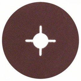 Bosch 5 részes fíber csiszolótárcsa-készlet sarokcsiszolókhoz, korund D= 115 mm; G= 80, 5 db