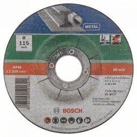 Bosch 5 részes hajlított darabolótárcsa-készlet fémhez D= 115 mm