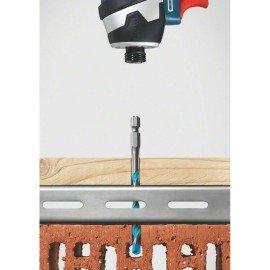 Bosch 5 részes többcélú fúrókészlet, HEX-9 Multi Construction 4; 5; 6; 6; 8 mm