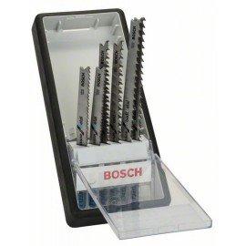 Bosch 6 részes Robust Line szúrófűrészlap készlet, Progressor T-szár T 123 X (2x); T 234 X (2x); T 345 XF (2x)