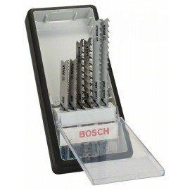 Bosch 6 részes Robust Line szúrófűrészlap készlet, Progressor U-szár U 123 X (2x); U 234 X (2x); U 345 XF (2x)