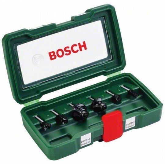 Bosch 6 részes TC marófej készlet (6 mm-es szár)