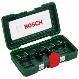 Bosch 6 részes TC marófej készlet (8 mm-es szár)