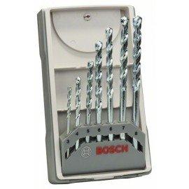 Bosch 7 részes CYL-1 kőzetfúrókészlet 3; 4; 5; 6; 6; 7; 8 mm