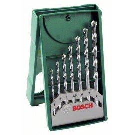 Bosch 7 részes Mini X-Line kőzetfúrókészlet