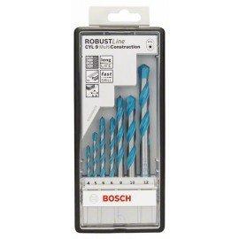 Bosch 7 részes Robust Line CYL-9 Multi Construction többcélú fúrókészlet 4; 5; 6; 6; 8; 10; 12 mm