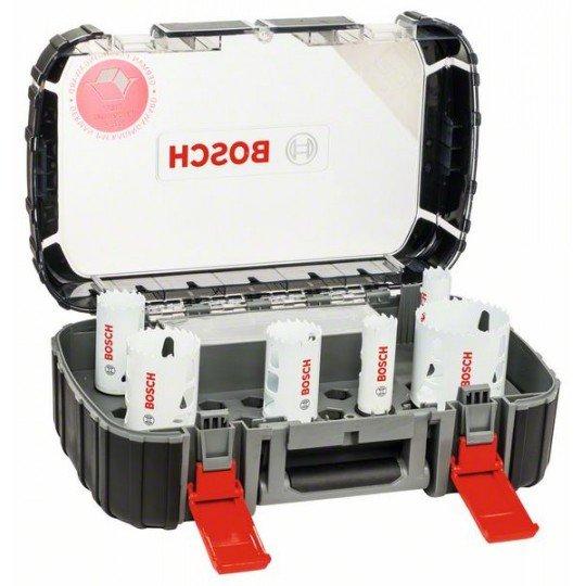 Bosch 8 részes univerzális körkivágó készlet, Progressor 22; 25; 35; 40; 51; 68 mm