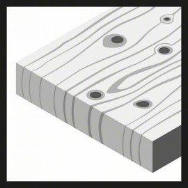 Bosch 8 részes univerzális körkivágó készlet, Progressor 22; 25; 35; 51; 60; 68 mm