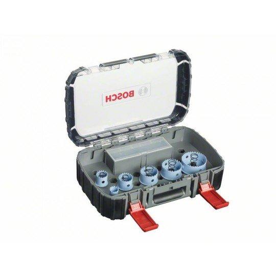 Bosch 9 részes szaniter körkivágó készlet, Sheet Metal 20; 25; 32; 38; 51; 64 mm