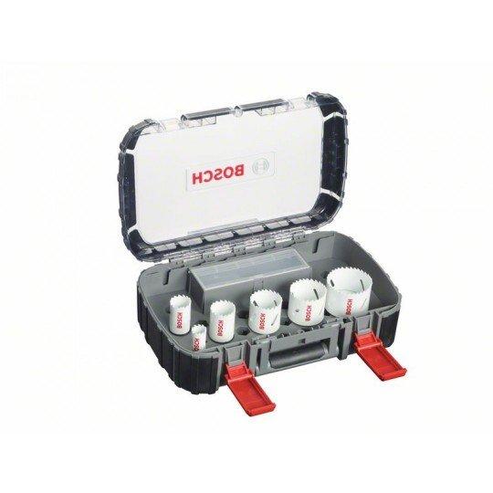 Bosch 9 részes villanyszerelő körkivágó készlet, Progressor 22; 29; 35; 44; 51; 64 mm