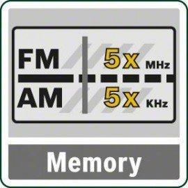 Bosch Akkus rádió (akku és töltőberendezés nélkül) EasyRadio 12