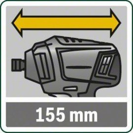 Bosch Akkus ütvefúró-csavarozógép (akku és töltőberendezés nélkül) PDR 18 LI