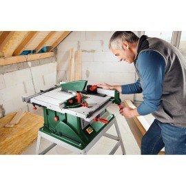 Bosch Asztali körfűrész állvánnyal PTS 10 T