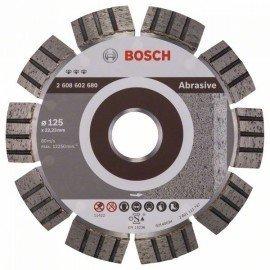 Bosch Best for Abrasive gyémánt darabolótárcsák 125 x 22,23 x 2,2 x 12 mm