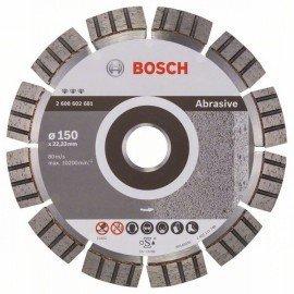 Bosch Best for Abrasive gyémánt darabolótárcsák 150 x 22,23 x 2,4 x 12 mm