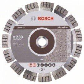 Bosch Best for Abrasive gyémánt darabolótárcsák 230 x 22,23 x 2,4 x 15 mm