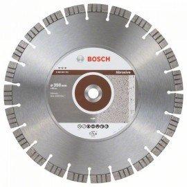 Bosch Best for Abrasive gyémánt darabolótárcsák 350 x 20,00 x 3,2 x 15 mm