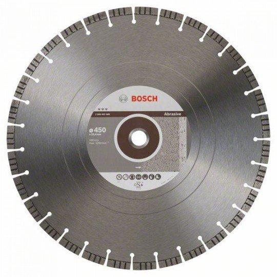 Bosch Best for Abrasive gyémánt darabolótárcsák 450 x 25,40 x 3,6 x 12 mm
