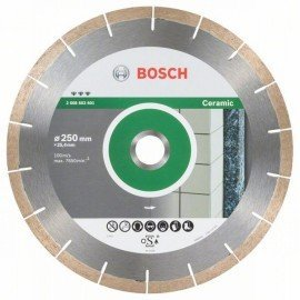 Bosch Best for Ceramic and Stone gyémánt darabolótárcsa 250 x 25,40 x 1,8 x 10 mm
