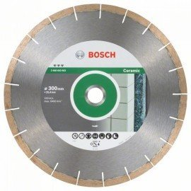 Bosch Best for Ceramic and Stone gyémánt darabolótárcsa 300 x 25,40 x 1,8 x 10 mm