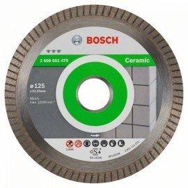 Bosch Best for Ceramic Extra-Clean Turbo gyémánt darabolótárcsa 125 x 22,23 x 1,4 x 7 mm