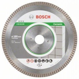 Bosch Best for Ceramic Extra-Clean Turbo gyémánt darabolótárcsa 180 x 22,23 x 1,6 x 7 mm