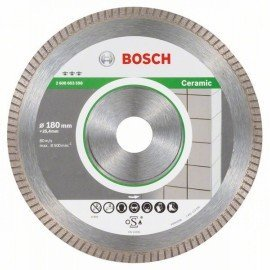 Bosch Best for Ceramic Extra-Clean Turbo gyémánt darabolótárcsa 180 x 25,40 x 1,6 x 7 mm
