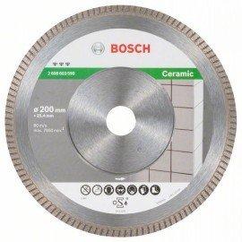 Bosch Best for Ceramic Extra-Clean Turbo gyémánt darabolótárcsa 200 x 25,40 x 1,8 x 7 mm