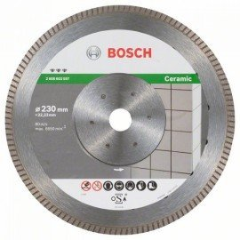 Bosch Best for Ceramic Extra-Clean Turbo gyémánt darabolótárcsa 230 x 22,23 x 1,8 x 7 mm
