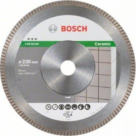 Bosch Best for Ceramic Extra-Clean Turbo gyémánt darabolótárcsa 230 x 25,40 x 1,8 x 7 mm