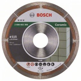 Bosch Best for Ceramic Extraclean gyémánt darabolótárcsa 115 x 22,23 x 1,2 x 5 mm